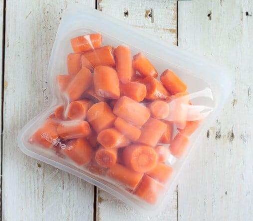 Freezing-carrots