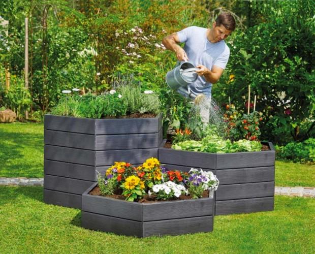 raised garden bed working